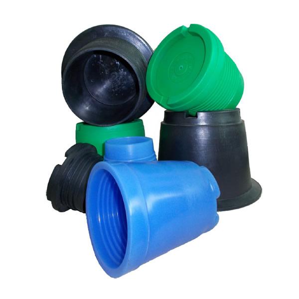 Protectoare filetate din material plastic